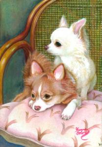 アクリル画 動物画 絵画 アート 美術