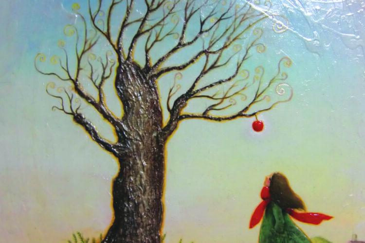 アクリル画 風景画 人物画 絵画 美術