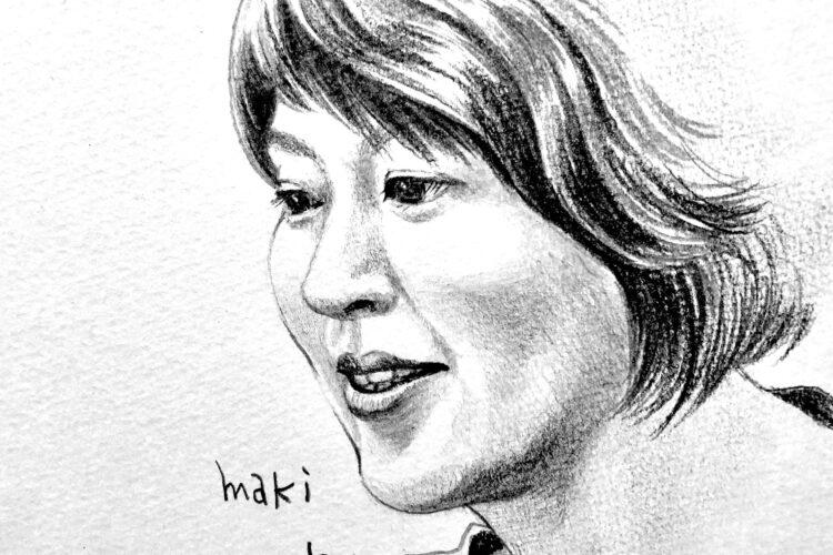鉛筆画 人物画 似顔絵 デッサン アート