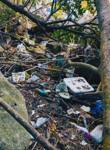 ゴミ アート 糸島