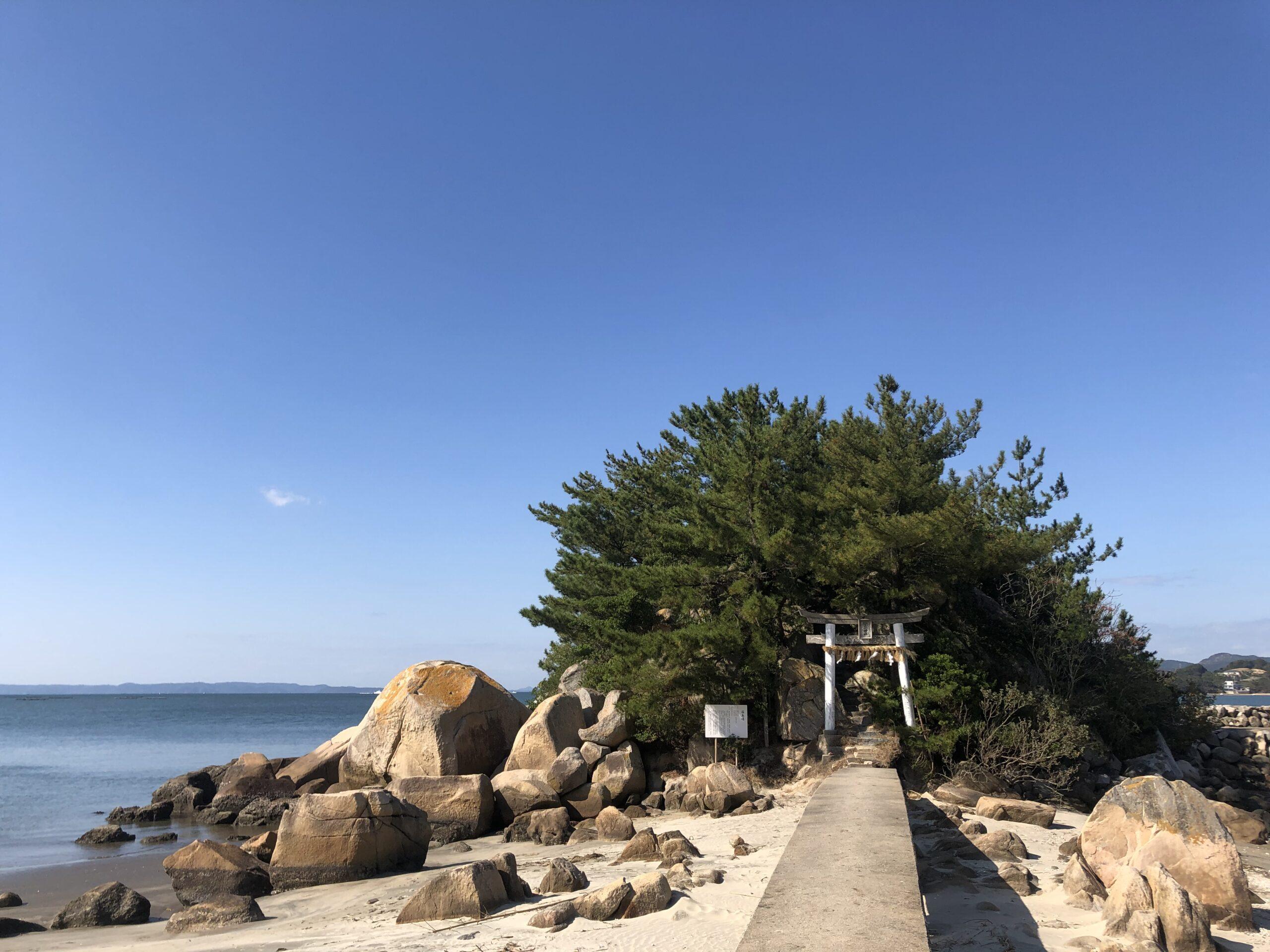 箱島神社 糸島 写真