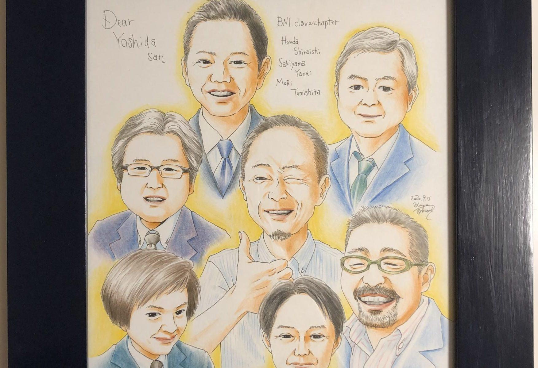 イラスト 人物画 似顔絵 デッサン アート