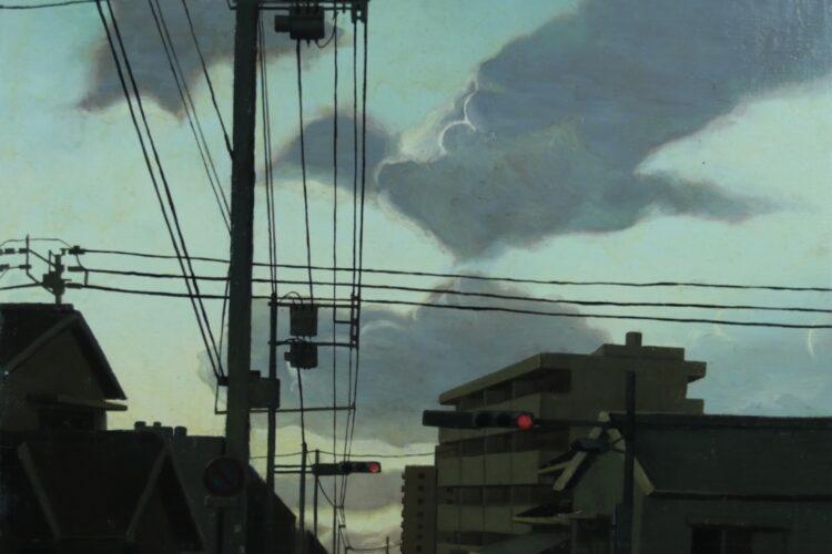 油彩画 風景画 大賞 絵画 peint